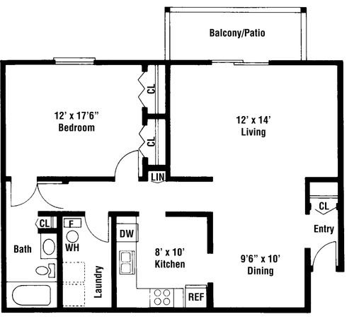 Camberly floor plan